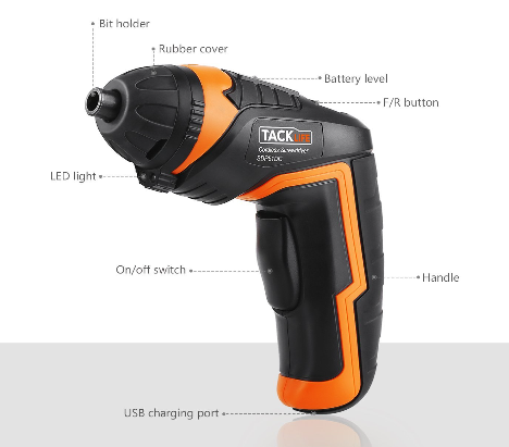 TACKLIFE SDP51DC Cordless Rechargeable Screwdriver Review