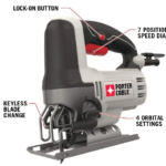 PORTER-CABLE PCE345 Orbital Jig Saw Review